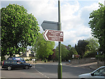 SX9364 : Tourist Sign for Kents Cavern and Gleneagles Hotel by John Firth