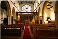 TG0934 : Aisle, St Peter and St Paul Church, Edgefield, Norfolk by Christine Matthews