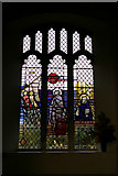 TG0934 : Window, St Peter and St Paul Church, Edgefield Norfolk by Christine Matthews