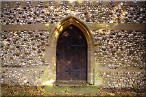 TG0934 : West Door, St Peter and St Paul Church, Edgefield, Norfolk by Christine Matthews
