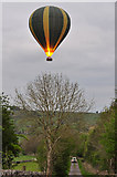 SK2256 : Hot air balloon - Aldwark by Mick Lobb