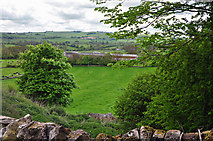 SK1855 : View to Foufinside Farm - parwich by Mick Lobb