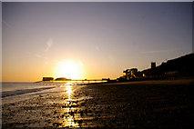 TG2142 : Cromer Beach at Sunrise by Christine Matthews