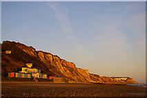 TG2142 : Cromer Cliffs, Norfolk by Christine Matthews