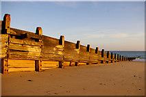 TG2142 : Sea Defence, Cromer, Norfolk by Christine Matthews
