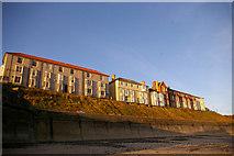 TG2142 : Clifftop Houses, Cromer, Norfolk by Christine Matthews