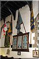 TF6103 : St Edmund's church in Downham Market - war memorial by Evelyn Simak