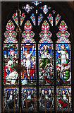 TF6103 : St Edmund's church in Downham Market - east window by Evelyn Simak