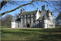 NJ5429 : Leith Hall, Aberdeenshire by Isabella Perry