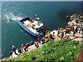 SM7309 : Landing Place on Skomer by Gareth James
