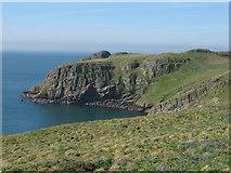 SM7308 : Towards High Cliff, Skomer by Gareth James