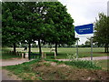 SP3783 : Playing fields, Sowe Common, Coventry by John Brightley