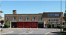 TQ2160 : Fire Station, Epsom by Stephen Richards