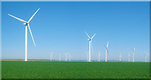 TQ9820 : Little Cheyne Court Wind Farm by Oast House Archive