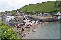 SW9980 : The Harbour, Port Isaac by Paul Buckingham