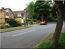 SP2871 : The northern end of John O'Gaunt Road by John Brightley