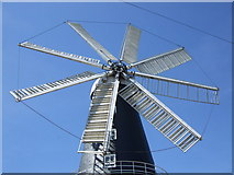 TF1443 : The eight sails of Heckington Mill by Richard Hoare