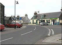 NX3343 : In the middle of Port William by Ann Cook