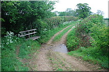 TF3873 : Ford and Footbridge on Bridleway to Driby by John Walton