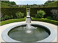NU1913 : Fountain in the Walled Garden, Alnwick by Humphrey Bolton