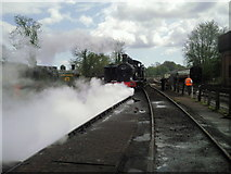 TQ4023 : Steaming up at Sheffield Park by Marathon