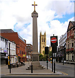 SD7109 : Marketgate Cross and Churchgate (2010) by David Dixon