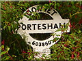 SY6085 : Portesham: finger-post detail by Chris Downer