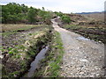 NM6666 : Track from Acharacle near Allt na Mathair by Chris Wimbush