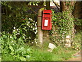 SY7683 : Holworth: postbox № DT2 114 by Chris Downer