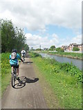 SJ5687 : St Helens Canal - Penketh by Anthony Parkes