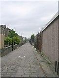 SE0724 : Back Ripon Street - Hopwood Lane by Betty Longbottom