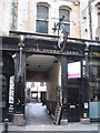 NZ2464 : The entrance to Old George Yard, Cloth Market, NE1 by Mike Quinn