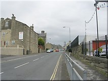 SE0724 : Parkinson Lane - viewed from Queen's Road by Betty Longbottom