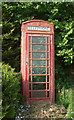 SS8477 : Disused telephone box, Wig-Fach by eswales