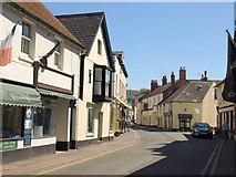 ST0743 : Swain Street, Watchet by Derek Harper