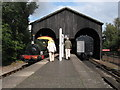 SU5291 : Transfer shed, Didcot Railway Centre by Gareth James