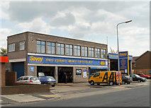 TA2710 : Savoy Auto Centre, Albion Street, Grimsby by David Wright