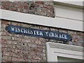 NZ2364 : Old sign for Winchester Terrace, NE4 by Mike Quinn