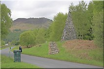 NN6557 : War Memorial, Kinloch Rannoch by Mick Garratt