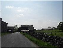 SD8656 : Farm Buildings near Hellifield by Anthony Parkes