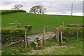 SD5186 : Footpath crosses Well Heads Lane by Rob Burke