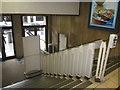 SJ3590 : Lewis's staircase by John S Turner