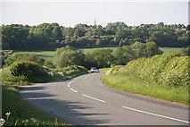 SK7369 : Tuxford Road by Richard Croft