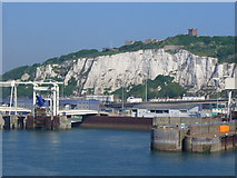 TR3341 : Eastern Docks, Dover Harbour by Colin Smith