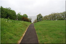 TA0390 : Footpath to the sea by N Chadwick