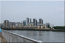 TQ3980 : East India Docks by Paul Gillett