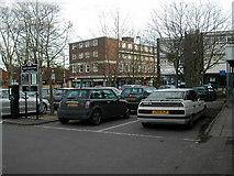 SP2871 : Car park adjacent to former Budgens store, Kenilworth by John Brightley