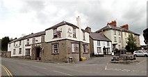 SO2956 : Swan Inn and The Square, Kington by Philip Pankhurst