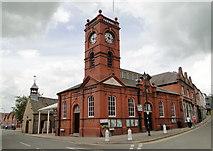 SO2956 : Market Hall, Kington by Philip Pankhurst
