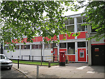 SJ8588 : Cheadle Post Office, Old Rectory Gardens by Robin Stott
